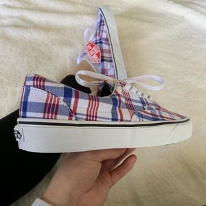"Vans Era ""White Flannel"" Sneakers"